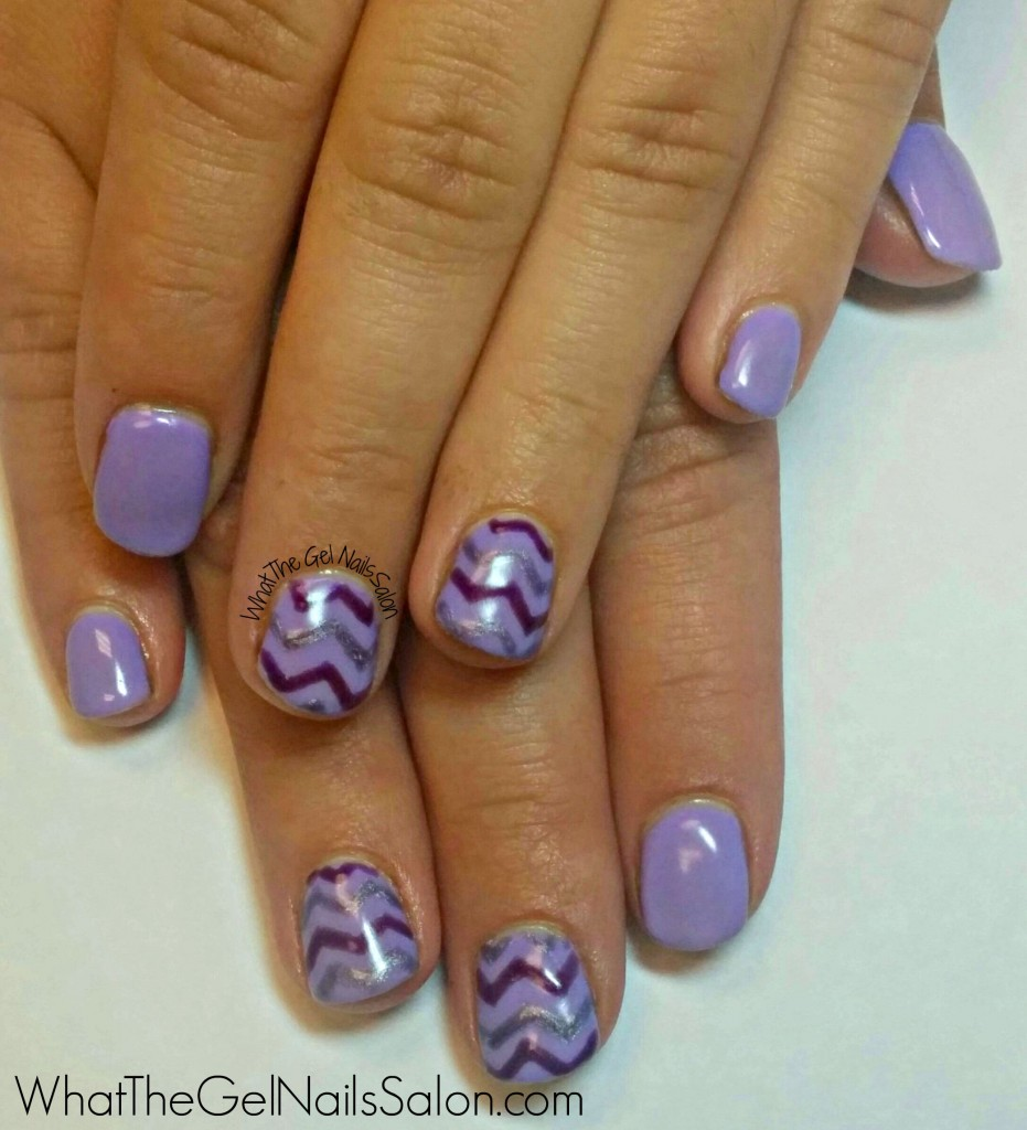 12 summer nail art designs from what the gel nails salon what if you havent tried chevrons yet you should give them a go if you are looking for simple nail art this nude and gold mani is perfect prinsesfo Choice Image