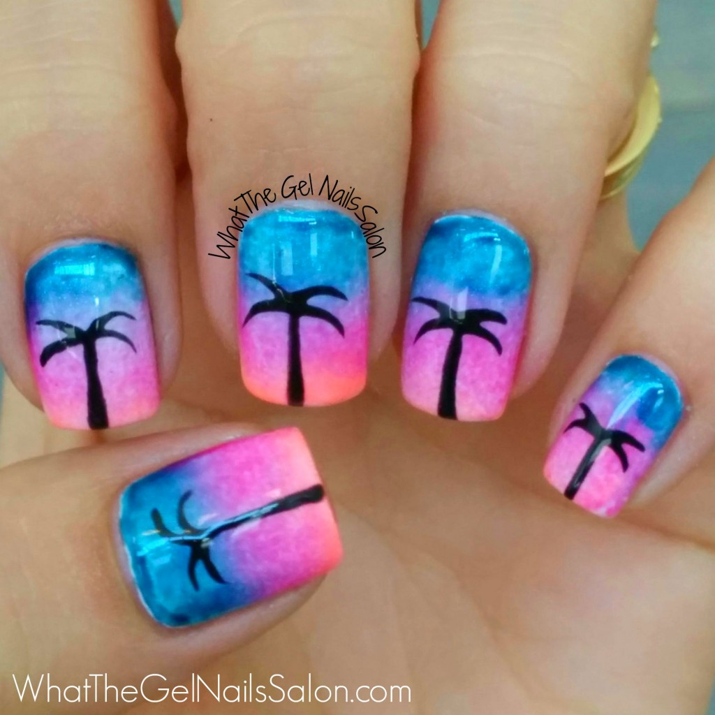 Halloween Nail Art Designs Without Nail Salon Prices: 12 Summer Nail Art Designs From What The Gel Nails Salon