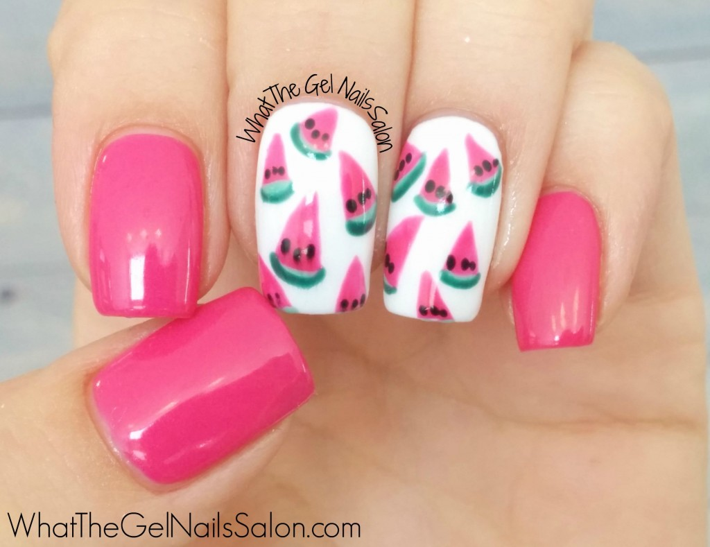 12 Summer Nail Art Designs From What The Gel Nails Salon What The